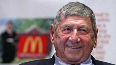 El Big Mac se queda huérfano: su creador muere a los 98 años