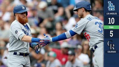 Pederson y Dodgers rescatan empate en la serie con Rockies