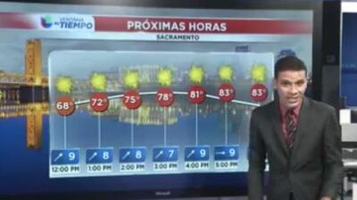 Jueves soleado con presencia de temperaturas cálidas en Sacramento