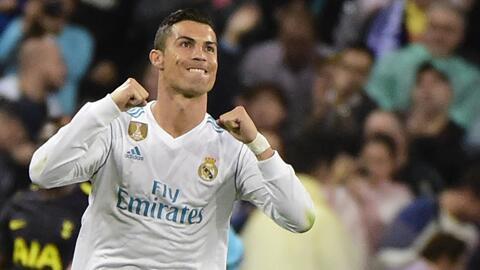 Genio total: Cristiano se luce con este gol con el hombro y de vaselina