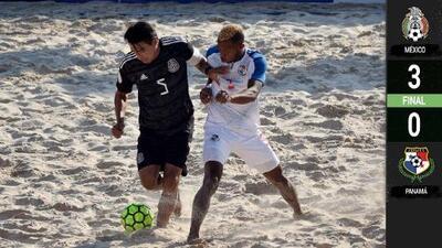 ¡Mexico venció a Panamá y está en el Mundial de Playa!
