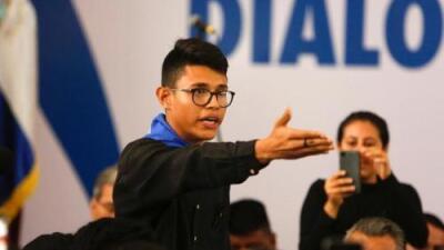 Lesther Alemán, el joven que confrontó a Daniel Ortega en Nicaragua y ahora vive en las sombras