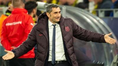 Valverde aceptó sufrimiento ante el Dortmund y rescató el regreso de Messi