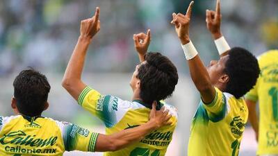 Los goles del intenso León vs. Santos