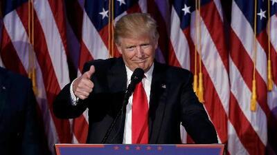 Este es el discurso de victoria de Donald Trump, comentado