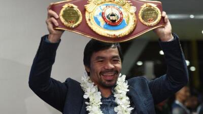 Manny Pacquiao se enfrentará a  Jeff Horn el 2 de julio