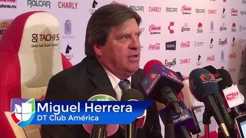 """Miguel Herrera: """"Estamos molestos y cansados. Nos sacaron el partido"""""""