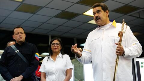 """Nicolás Maduro asegura que aceptará """"todo lo que el pueblo de EEUU sea capaz de enviar"""""""