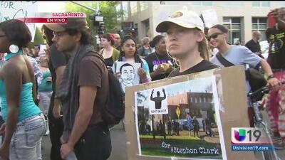 Continúan las protestas por la muerte de Stephon Clark