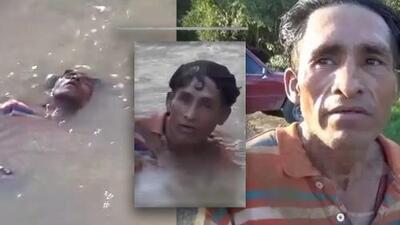 Creyeron haber encontrado un cadáver enlodado en la rivera de un río, pero en realidad estaba borracho