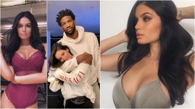 Anne De Paula sigue consolando a Joel Embiid y brilla como modelo de Sports Illustrated