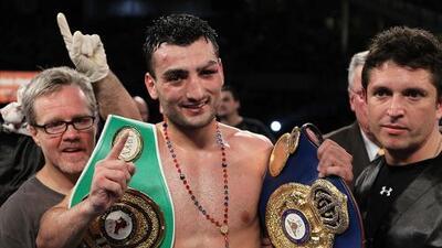Y a todo esto, ¿quién es Vanes Martirosyan, el rival de 'GGG'?