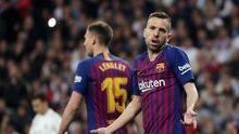 """Jordi Alba tras caer ante el Granada: """"Estamos muy jodidos"""""""