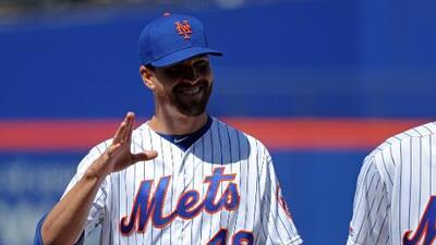 Mets optimistas con Jacob deGrom: Tomografía no muestra lesión en el codo