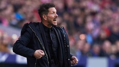 Atlético de Madrid alargó su romance con Diego Simeone
