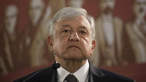 Manuel López Obrador garantiza medicinas y alimentos a los migrantes de la caravana que se encuentran en México