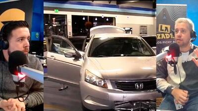 Hombre estrella su auto contra un gimnasio y termina en medio de las máquinas de hacer ejercicio