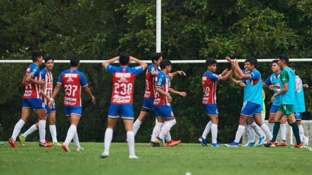 Primer título en la era de Amaury; Chivas consiguió su sexto título Sub-17