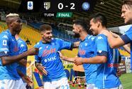 'Chucky' Lozano, factor en triunfo del Napoli contra Parma