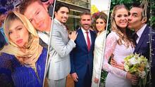 Mientras algunos tronaron, 'Canelo' y otros famosos se unieron a la fiebre de bodas en la pandemia