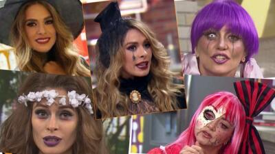 Memorables disfraces de Halloween de Galilea Montijo y Andrea Legarreta