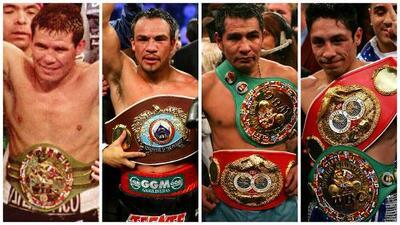 'Canelo' vs. Chávez Jr. y 5 grandes peleas entre boxeadores mexicanos