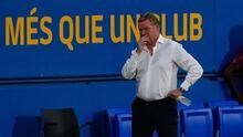 Ronald Koeman aún no es registrado como técnico del Barcelona