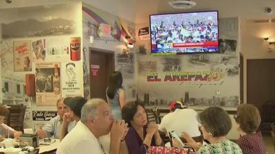 Diáspora venezolana en Miami se activa para exigir el ingreso de la ayuda humanitaria a su país