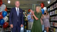 En fotos: La nominación de Biden y el discurso de su esposa, así se vivió el segundo día de la Convención Nacional Demócrata
