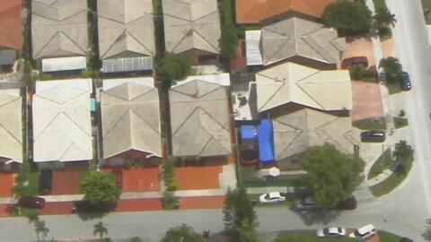 Encuentran en el techo de su propia casa a un niño que estaba reportado como desaparecido en Hialeah