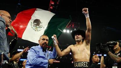 Gilberto 'Zurdo' Ramírez noqueó a Tommy Karpency