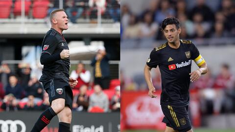 Wayne Rooney vs. Carlos Vela en una imperdible sexta semana de la Major League Soccer