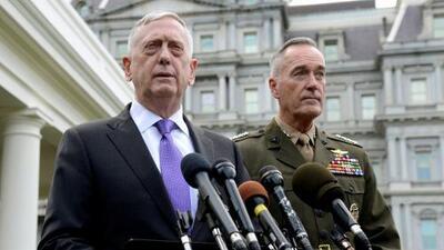 """""""No estamos buscando la aniquilación total de Corea del Norte, pero tenemos muchas opciones para hacerlo"""""""
