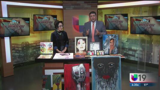 Exposición de obras de arte en Sacramento