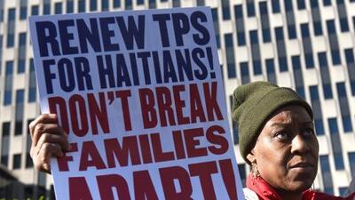 Haitianos presentan la cuarta demanda contra Trump por eliminar beneficios del TPS