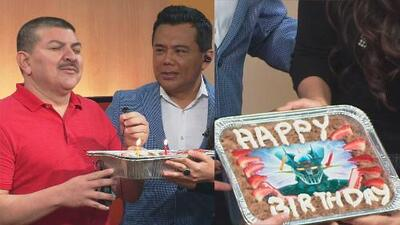 Caraturky, el salvadoreño más mexicano, celebró su cumpleaños con mariachi