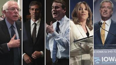 Iowa reunió el fin de semana a 19 de los 23 aspirantes a la nominación demócrata a la presidencia
