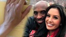 Inexplicable: un ángel sostiene a Vanessa Bryant en la tarjeta que Kobe Bryant le tenía para su cumpleaños