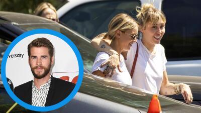 Miley Cyrus no está llorando por Liam Hemsworth: salió radiante con Kaitlynn Carter