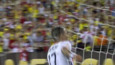 Goooolll!!! Dayro Mauricio Moreno Galindo anota su penalti para el Colombia