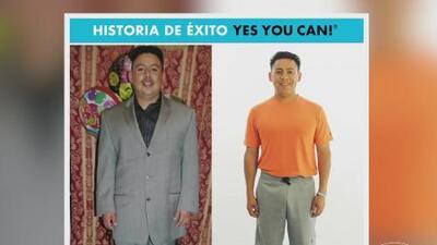 Alejandro Escobar no solo perdió peso con Yes You Can!, también se llenó de energía como si hubiera perdido años