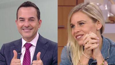 Finalmente conocimos a la novia de Carlos Calderón, así de romántico la presentó
