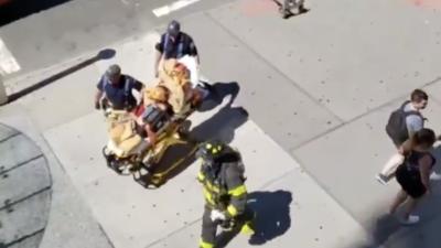 Derrame de ácido en edificio en Manhattan deja seis heridos, uno de ellos en estado grave