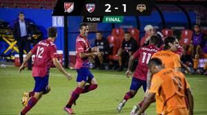 Impresionantes goles de fantasía de Andrés Ricaurte y Franco Jara definen el Clásico Texano
