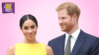 El embarazo de Meghan Markle le pertenecerá a la corona
