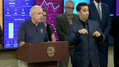 """""""Acabo de firmar la declaración de emergencia para el condado de Miami-Dade"""": Carlos Giménez"""