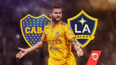 "André-Pierre dijo ""no"" a Boca Juniors y LA Galaxy"