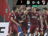 River Plate golea con autoridad a Binacional en la Copa Libertadores
