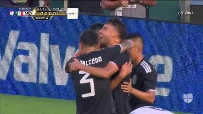 ¡GOOOL! Diego Reyes anota para Mexico