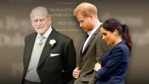 El mensaje de Harry y Meghan tras la muerte del príncipe Philip